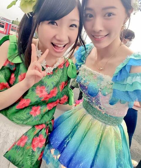 【SKE48】松井珠理奈「え!有安杏果ちゃん卒業びっくり。寂しい。大好きなのに」