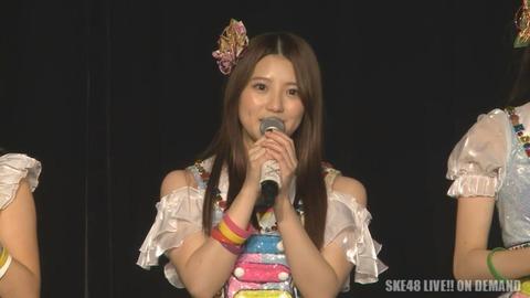 【悲報】SKE48木本花音、劇場公演にて卒業発表