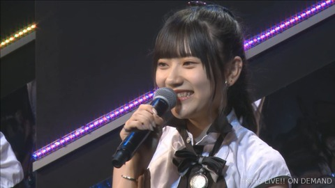 【HKT48】山田麻莉奈が劇場公演にて卒業発表【まりり】