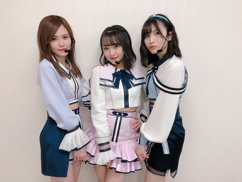 【AKB48】込山榛香、向井地美音、福岡聖菜の中で付き合えるなら誰がいい?