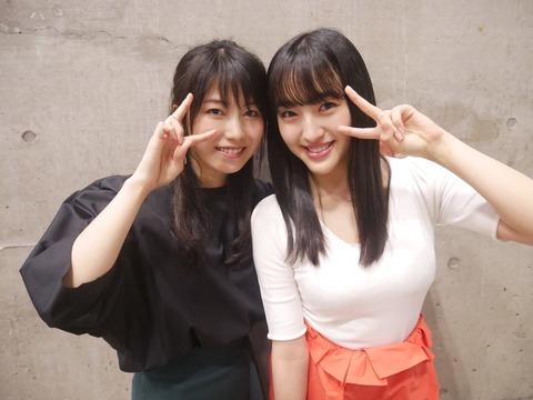 【朗報】HKT48田島芽瑠さん、連日ここぞとばかり胸を強調した服で握手会