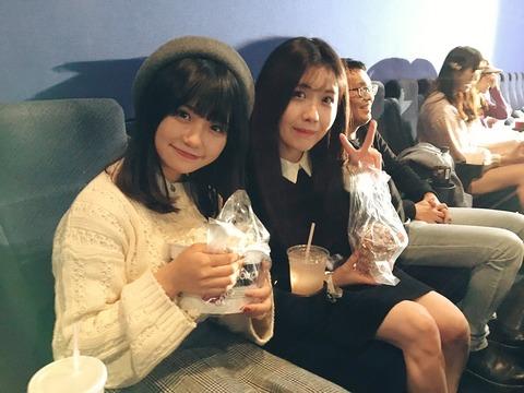 【SKE48】ゆななちゃん、新潟でポップコーンを食べる【小畑優奈】