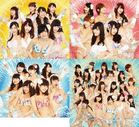 NMB48新アルバム初日売上約23万
