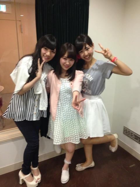 【NMB48】小笠原茉由「AKBのホットミールは温かくて驚いた」
