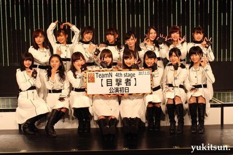 【NMB48】チームNの新公演は目撃者公演