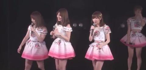 【HKT48】指原莉乃がAKB劇場にサプライズ出演!握手会で喧嘩したヲタを見つけ再バトルwww