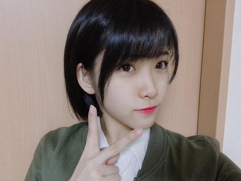 【画像】AKB48市川愛美が黒髪デビュー!!!