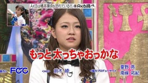 【AKB48】島田晴香「役のために増量中で、今ちょうど5キロ増えたところ」
