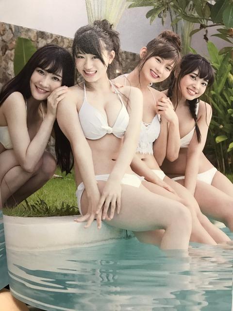 【画像あり】NMB48上西怜ちゃんの爆乳(*´Д`)ハァハァ