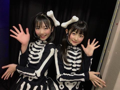 【ポストなこみく】HKT48いぶはるコンビのほねほねワルツが超可愛い!【工藤陽香・石橋颯】
