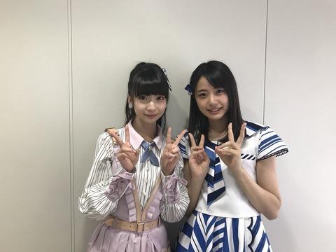 NGT48荻野由佳とSTU48瀧野由美子のトレードを求む