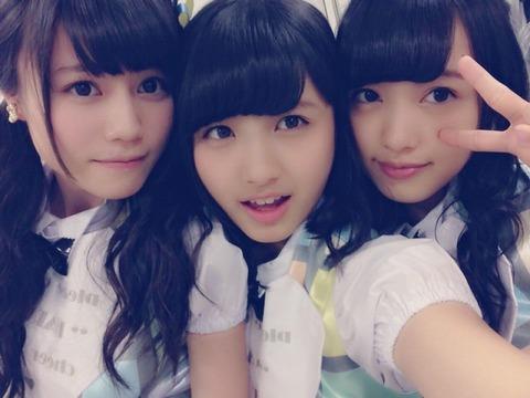 【AKB48】込山榛香って大和田南那と向井地美音とセットで15期三銃士みたいに言われてたよな?
