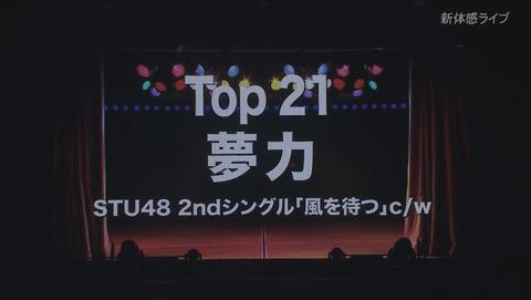 【悲報】AKB48Gリクエストアワー セットリストベスト50 2020、STU48終了のお知らせ
