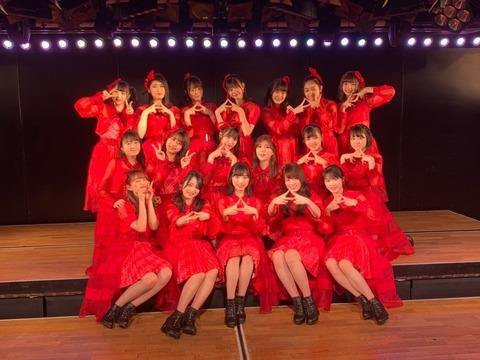 【悲報】AKB48チームA公演、人数が足りずついに他チームから助っ人出演させる事態に