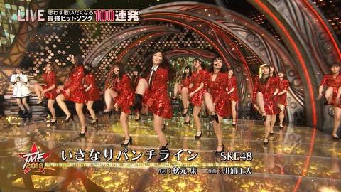 【SKE48】須田亜香里が「テレ東音楽祭」で松井珠理奈の代理センター