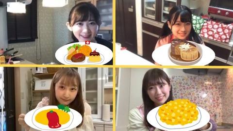 【NMB48】難波自宅警備隊「ドラ3のエプロン」まとめ【料理配信】