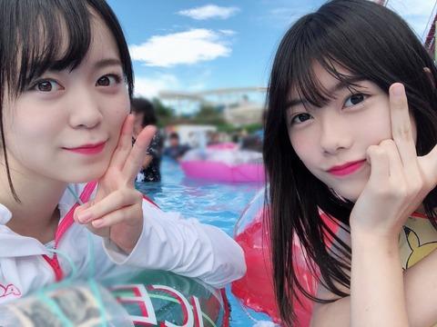 【AKB48】西川怜、自分より格下と思い込んでいた千葉恵里に抜かされてテンションだだ下がり