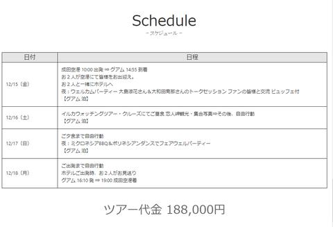 【元AKB48】大島涼花&大和田南那のグアムツアー代金「188,000円」wwwwww