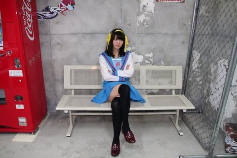 【HKT48】駒田京伽、プライベートで涼宮ハルヒのコスプレをする