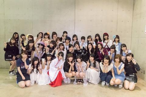【画像】SKE48と欅坂46の集合写真きたよ