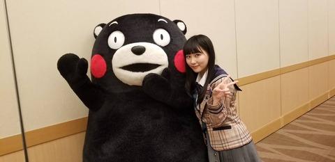 【HKT48】田中美久「(むぎゅっ!)」くまモン「(キタ━━━━!!)」