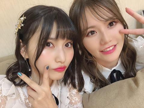 【AKB48】福岡聖菜と込山榛香がスマホで撮った写真の枚数が凄い!!!
