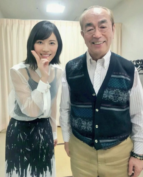 【SKE48】松井珠理奈が志村けんさんの訃報にコメント発表