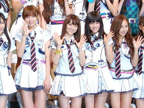前田、大島、篠田、板野のいないAKB48を想像出来たか?