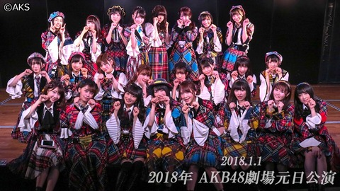 【AKB48G】これぞ劇場公演!と思う曲はどの曲?