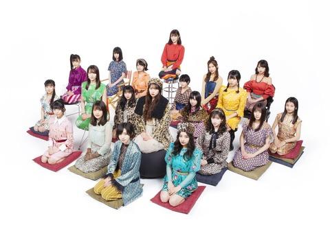 【NMB48】20thシングル「床の間正座娘」3日目売上は3,450枚