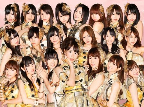 【AKB48】久々にフライングゲットのMV見たらガチガチ全盛期でワロタwww