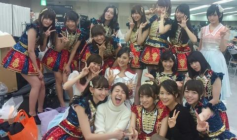 【紅白】さや姉のアウェイ感ワロタwwwwww【NMB48・山本彩】
