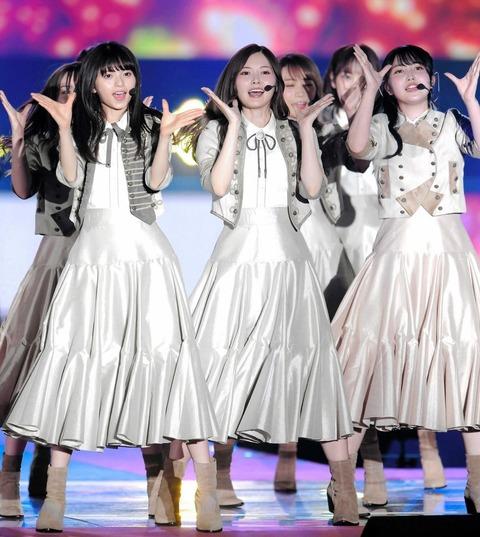 【悲報】乃木坂46さん、遂にNHK紅白単独出演できず。グループ合同パフォーマンスに