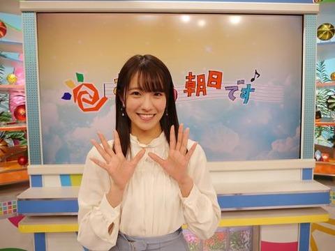 【朗報】NMB48キャプテン小嶋花梨が朝の情報番組「おはよう朝日です」の限定アシスタントに抜擢!