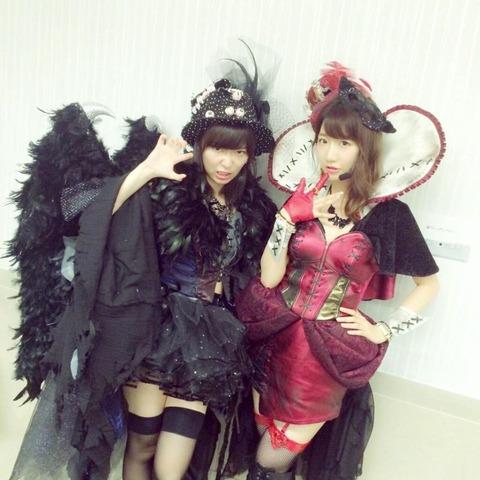 【HKT48】指原莉乃「ハロウィンをめちゃくちゃ楽しみにしてる人とは付き合いたくない」