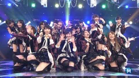 【AKB48】重力シンパシーのまゆゆセンターのはまり具合が最強過ぎる
