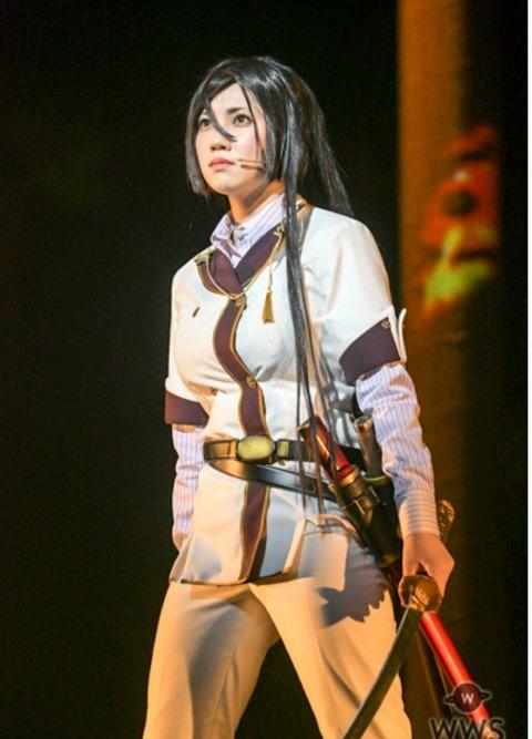 【悲報】北川綾巴ちゃんがSKE48で一番辛かった仕事は「『刀使ノ巫女』の舞台」