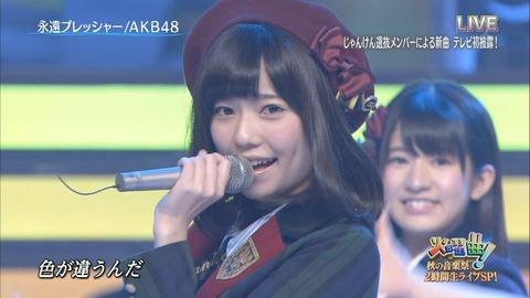 【AKB48】永遠プレッシャーの時のぱるるに勝てるアイドルっている?【島崎遥香】