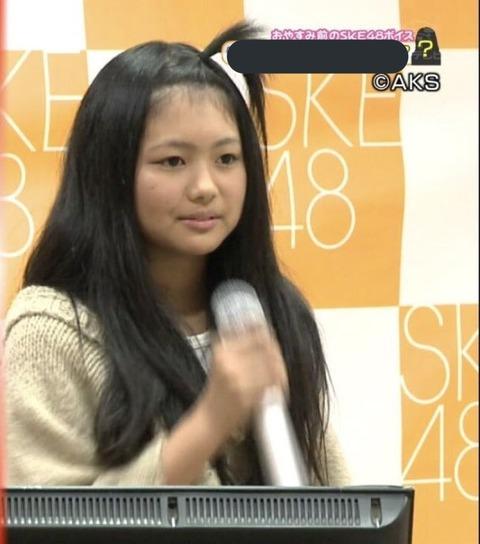 【衝撃画像】オーディション時のSKE48北野瑠華さんをご覧ください…