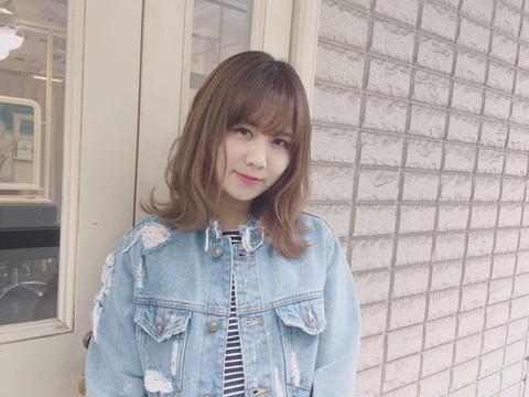 【SKE48】髪を切った佐藤すみれが可愛い
