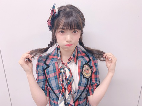 【悲報】AKB48武藤小麟さん、またしても誰かに怒られそうなことをしでかす