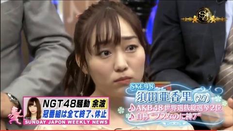【NGT48暴行事件】コメントが称賛される指原莉乃と叩かれる須田亜香里の違いって何?