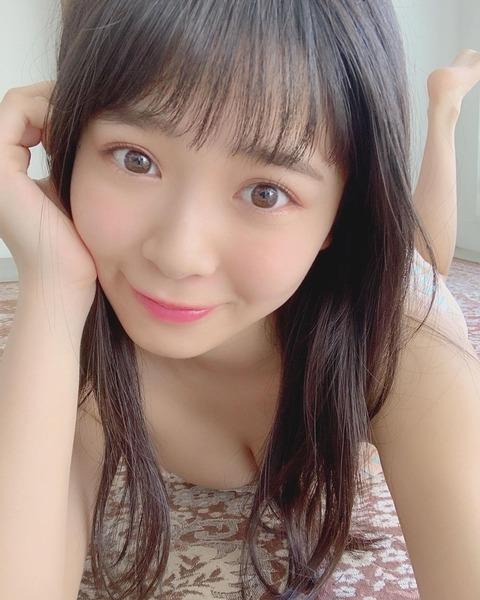 【朗報】NMB48安田桃寧のお〇ぱいが桃だったwwww