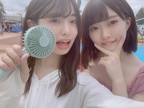 【朗報】AKB48久保怜音ちゃんのプール画像が来たよー!