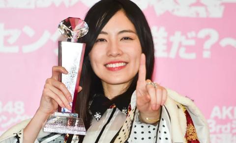 【AKB48総選挙】1位の松井珠理奈が雲隠れして1ヵ月以上経つが、指原須田宮脇と違って外仕事に全く影響無いってある意味凄いな