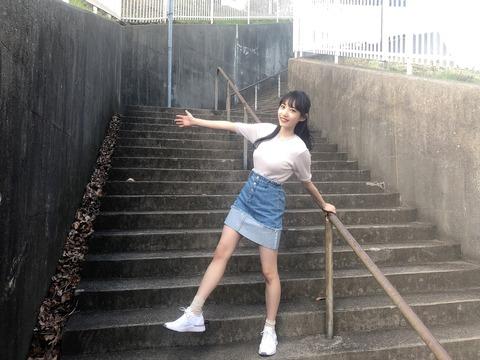 【朗報】NMB48横野すみれがテレ朝の全力坂に出演!!!