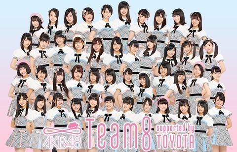 【AKB48】チーム8でいま1番可愛いメンバーって誰だと思う?
