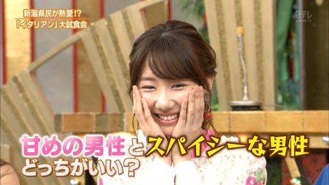【AKB48】柏木由紀「甘めの男性よりスパイシーな男性のほうがいい」
