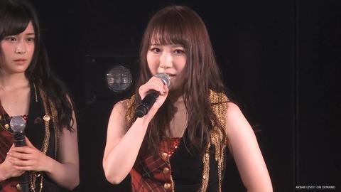 【悲報】AKB48名取稚菜、劇場公演にて卒業発表「もっと広い視野を持って大人の女性になりたい」