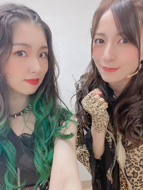 【悲報】AKB48岩立沙穂さん、緑髪になる